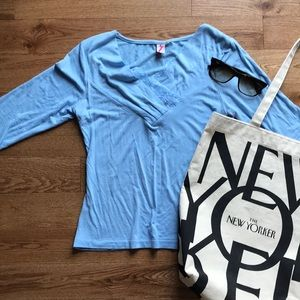 Tops - Long-sleeve Blouse